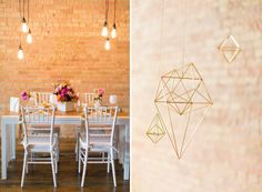Modern, Geometric Inspiration Shoot | Culinary Crafts | The Tasting Room | Scenemakers | Jessica Peterson Photography | http://www.culinarycrafts.com/?p=13596