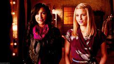 Santana and Quinn