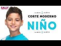 Corte Moderno para Niño Paso a Paso - YouTube