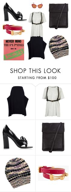 """""""KØBENHAVN"""" by drencrome ❤ liked on Polyvore featuring Comme des Garçons, Kenzo, Ann Demeulemeester, Missoni, Alexander McQueen and Miu Miu"""