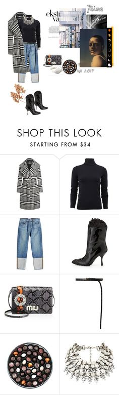 """""""2612"""" by hannover ❤ liked on Polyvore featuring Wolford, Frame, Miu Miu, Vetements, Rococo and Holiday Lane"""