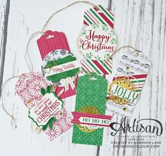 Crush On Colour: Stampin' Up! Artisan Design Team Blog Hop - Upcycling for Christmas Gifts!