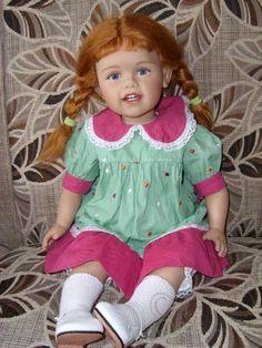 Моё рыжеволосое чудо / Коллекционные куклы Sissel Bjorstadt Skille / Бэйбики. Куклы фото. Одежда для кукол