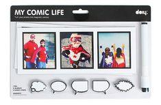 12€. Magnet comics out of your photos..... Convierte tus fotos en tiras de cómic