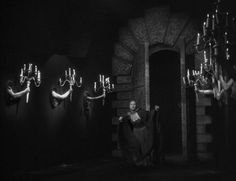 The lights to lead Belle through the hallway...