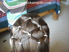 princess hair-do    this was in my american girl hairstyle book way back in the olden days lol