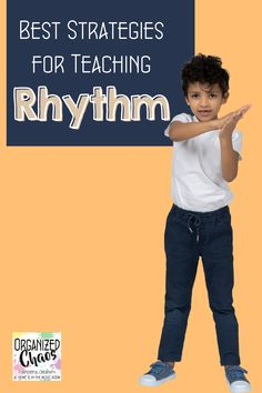 """Rhythm is one of those fundamental concepts that gets infused into so many of our lessons, especially in elementary general music. Is there ever such a thing as """"too many rhythm teaching ideas""""? Today, I want to share some over-arching thoughts on teaching rhythm in general and also round up some of my top strategies from previous blog posts in one place to make it easier to find everything you need for your lesson planning! Teaching Strategies, Teaching Resources, Teaching Ideas, Classroom Management Tips, Behavior Management, Middle School Classroom, Classroom Setup, Elementary Choir, Music Lessons For Kids"""