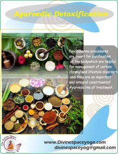 #Divine_Space_Yoga #200HRS_TTC #300HRS_TTC #Ayurvedic_Yoga_Retreat #Detoxification_Retreat #Yoga_TTC_in_Rishikesh #Intensive_Hatha_Yoga_Course    #Panchakarma procedures are meant for #purification of the #body which are helpful for #management of #certain_chronic and #lifestyle_disorders and they are an #important and #integral_constituent of #Ayurveda line of #treatment.  Read more: www.Divinespaceyoga.com Mail us: Divinespaceyog@gmail.com