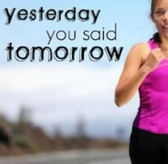 TODAY is THE day! | via @SparkPeople #motivation #quote #fitness