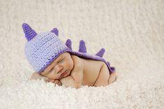 Ravelry: Dinosaur or Dragon Hat pattern by Sweet Kiwi Crochet Kandice Oster