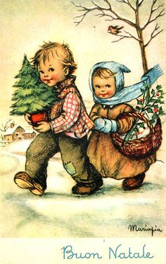 Vintage Christmas Images, Old Fashioned Christmas, Christmas Scenes, Christmas Past, Victorian Christmas, Retro Christmas, Vintage Holiday, Christmas Pictures, Christmas Greetings
