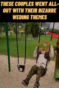 #Couples #Bizarre #Wedding #Themes