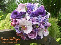 Bouquet con orquídeas de Erica Villegas Atelier Floral | Foto 4