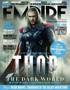 Finally--thor on the advert for his movie!
