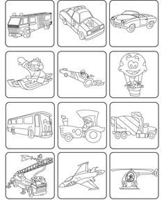 juegos-ninos-memoria-transportes.gif (600×733) Coloring Sheets, Coloring Books, Coloring Pages, Professor, Transportation Theme, Matching Games, Eyfs, Kids Cards, English Language