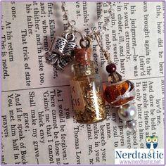 Harry Potter Felix Felicis Luck Potion Necklace