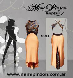 Milonga Tango Dress Mimi Pinzon by MimiPinzon on Etsy