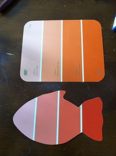 fun with paint chip samples