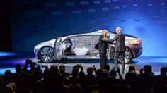 Futuristic Car, Mercedes-Benz, F-015, Self-Driving Car, Luxury Car, Wealth, Future Car, Rich, Future Vehicle