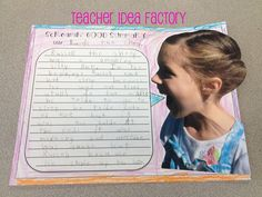 Teacher Idea Factory: SCREAMIN' GOOD SUMMARY - FREEBIE...omg...kids will love this!