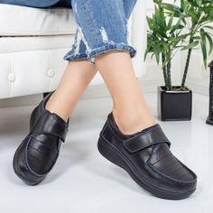 Pantofi Piele Vicaz negri comozi Loafers, Casual, Shoes, Fashion, Travel Shoes, Moda, Zapatos, Moccasins, Shoes Outlet