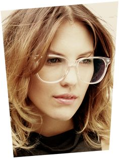 Chic nerd glasses will suit you very well