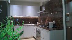 Image result for marron emperador kitchen Gardens, Kitchen, Image, Cooking, Kitchens, Cucina, Tuin, Stove, House Gardens