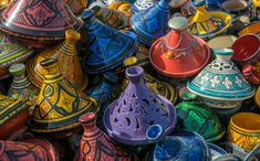 Image shared by Dellila Ben Sen. Find images and videos about morocco and marrakech on We Heart It - the app to get lost in what you love. Moroccan Art, Moroccan Style, Indian Style, Oriental, Sainsburys Home, The Fish Market, Color Rush, Signs, Color Mixing