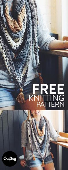knitting projects Whether youre warming up to a hot cup of joe or popping in to cool off with an iced coffee, the Coffee Shop knitted Wrap pattern has you covered - literally. Easy Knitting, Knitting Stitches, Knitting Needles, Knitting Patterns Free, Knit Patterns, Free Pattern, Sock Knitting, Vintage Knitting, Finger Knitting
