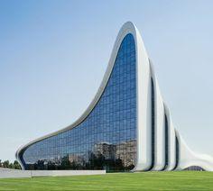 Heydar Aliyev Centre, Azerbaijan. Designed by Zaha Hadid. (Photo by Iwan Baan)