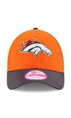 NFL Women s Denver Broncos New Era Orange Graphite Gold Collection On Field  9FORTY Adjustable Hat 12caa7153