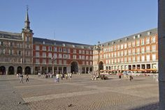 The Plaza Mayor, the perfect place to relax