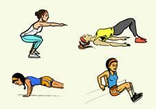 No-Gym Bodyweight Workout Tight on time, and no gym in sight? All you need is 30 minutes to break a sweat with this kick-butt bodyweight workout — anytime, anyplace. Killer Workouts, Toning Workouts, Pilates Workout, Fun Workouts, Workout Tips, Fitness Goals, Fitness Tips, Fitness Motivation, Health Fitness
