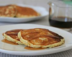 Make Tuesday night (or any night) a Pancake Night! My mom's recipe for light and fluffy buttermilk pancakes or sweet-milk pancakes. Recipe includes tips & ideas for new cooks.