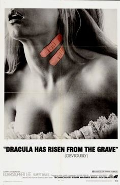 Hammer Films Movie Posters   Dracula Has Risen from the Grave