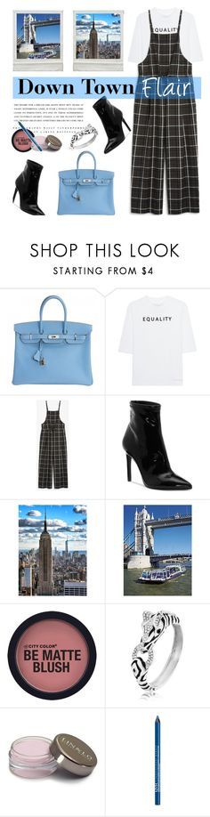"""Confidence is the best accessory 👄"" by missdee-93 ❤ liked on Polyvore featuring Hermès, Soufiane Ahaddach, Monki, Jessica Simpson, Kerr®, Bling Jewelry and NYX"