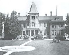 The College in 1943---- Now it is The Haunted Mansions of Albion