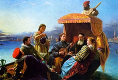 Henry Nelson O'Neil (1817-1880) Happy Days Of Titian
