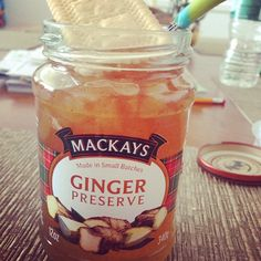 #mackays #ginger #gingerpreserve #foodporn