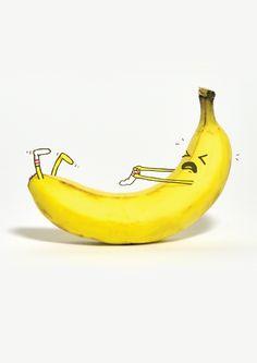 Banana Sock Encouragement Card | Open Me