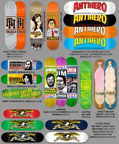 Anti Hero Summer Dop 1 Carry-over Anti Hero Skateboards, Skateboard Companies, Skateboard Design, Summer, Summer Time, Summer Recipes
