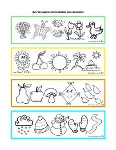 Four seasons set with tree, birdhouse, birds, pumpkin lanterns and snowman Parts Of A Flower, Parts Of A Plant, Kindergarten Activities, Craft Activities, Comparing Numbers Worksheet, Text Complexity, Nonfiction Text Features, Transitional Kindergarten, Social Themes