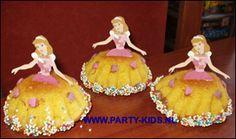 traktaties - Prinsessen-cakejes zelf maken
