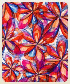 minha estampa, my pattern on followthecolours website <3  Ceci Canassa