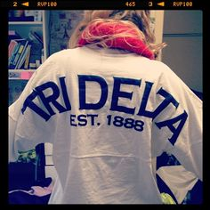 Tri Delta spirit jersey http://www.facebook.com/spiritfootballjersey