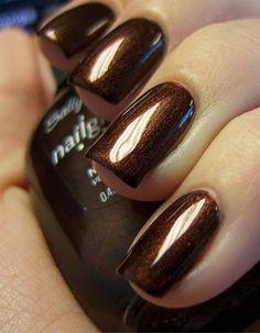 Forbidden Fudge nail polish by Sally Hansen