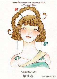 Sagitario - Jonquil #astrology #zodiac