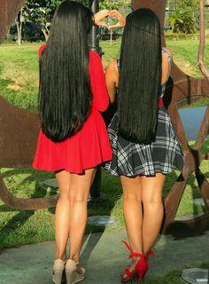 Shop Rabake Hair Brazilian Straight Human Hair 3 Bundles With Closure Brazilian Virgin Hair Straight With Closure Long Black Hair, Dark Hair, Indian Hair Cuts, Rides Front, Super Long Hair, Beautiful Long Hair, Beautiful Ladies, Silky Hair, Hair Lengths