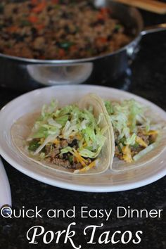 ... recipes on Pinterest | Pork egg rolls, Pork meatballs and Pork tacos