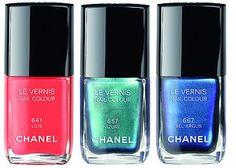L'été Papillon De Chanel Summer 2013 Makeup Collection Le Vernis